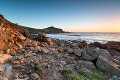 Cape Cornwall Royalty Free Stock Images