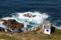 Cape Cornwall - Coastwatch Stock Images