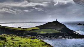 Cape Cornwall Cornwall UK. Cape Cornwall in West Penwith UK. This is the only Cape in the whole UK Stock Image