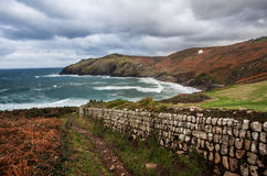Cape Cornwall. Stock Photo