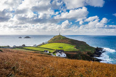 Cape Cornwall England UK Royalty Free Stock Photo