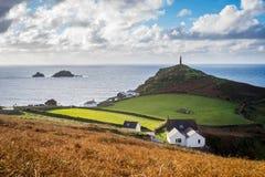 Cape Cornwall England UK Royalty Free Stock Image