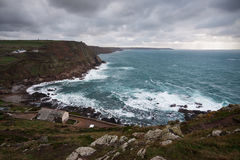 Cape Cornwall. Royalty Free Stock Photography