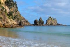 Cape Coromandel. View of cape Coromandel cliff north island Stock Photography