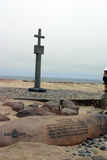 Cape Cross. A scene at Cape Cross Namibia stock photo