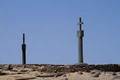 Cape Cross in Namibia Royalty Free Stock Image