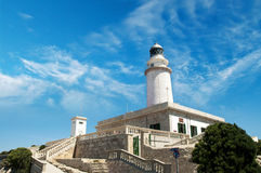 Cape de Finisterre Lighthouse Στοκ Εικόνα