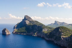Cape de formentor Stock Images
