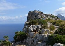 Cape de Formentor Stock Photography
