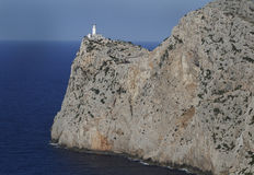 Cape de Formentor Lighthouse 免版税库存照片