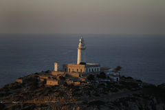 Cape de Formentor Lighthouse 免版税库存图片