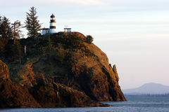 Cape Disappointment Columbia River Mouth Lighthous Royalty Free Stock Photos