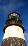 Cape Disappointment Lighthouse. Old weathered cape disappointment Lighthouse Royalty Free Stock Photos