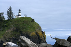 Cape Disappointment Lighthouse Stock Images
