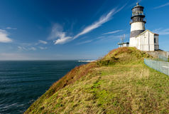 Cape Disappointment Lighthouse, built in 1856 Royalty Free Stock Photo
