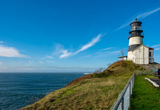 Cape Disappointment Lighthouse, built in 1856 Stock Images