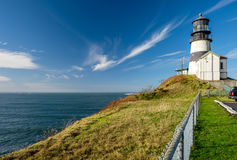 Cape Disappointment Lighthouse, built in 1856 Stock Photography