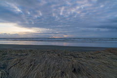 Cape Disappointment. Sunset at Cape Disappointment In The Cove Royalty Free Stock Image