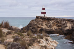 Cape Dombey Obelisk, Robe, South Australia Royalty Free Stock Photography