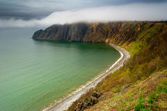 Cape Dragon. During the season of mists Stock Image
