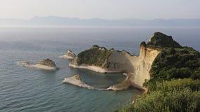 Cape Drastis , Corfu , Greece Stock Image