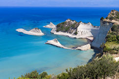 Cape Drastis at Corfu island, Greece Royalty Free Stock Photo