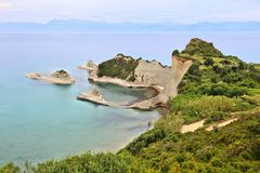 Cape Drastis, Corfu Stock Images