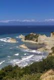 Cape Drastis, Corfu. Cape Drastis on the north coast of Corfu Stock Photography