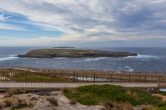 Cape du Couedic boardwalk. Flinders Chase National Park, Kangaro Stock Photography
