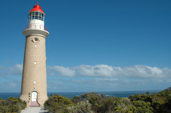 Cape du Couedic Lighthouse Lizenzfreies Stockfoto