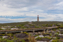 Cape du Couedic lighthouse, Flinders Chase National Park, Kangar Stock Images