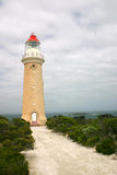 Cape du Couedic Lighthouse, isla del canguro, del sur Fotos de archivo