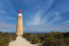 Cape du Couedic Lighthouse station in Flinders Chase National Pa Royalty Free Stock Photo