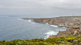 Cape Du Couedic Lightstation, Casuarina Islets, Flinders Chase N Stock Photos
