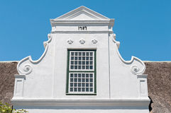 Cape Dutch architectural style Stock Photography