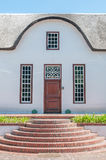 Cape Dutch architectural style Stock Image