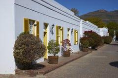 Cape Dutch Architecture Stock Photography