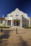 Cape Dutch Architecture, Town Hall in Franschhoek Royalty Free Stock Photos