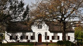 Cape Dutch Farm House royalty free stock photo