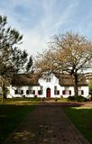 Cape Dutch Farm House Royalty Free Stock Image