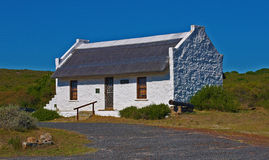 Cape Dutch house. Historic Cape Dutch house in South Africa Stock Photo
