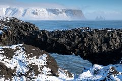 Cape Dyrholaey, Iceland stock photography