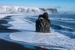 Cape Dyrholaey, Iceland stock photo