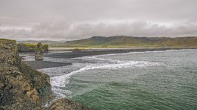 Cape Dyrholaey. Iceland. stock photos