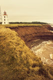 Cape Egmont Lighthouse in Prince Edward Island Stock Photography
