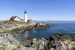 Cape Elizabeth - Portland USA Royalty Free Stock Photos