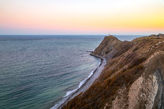Cape Emine at sunset Stock Photos