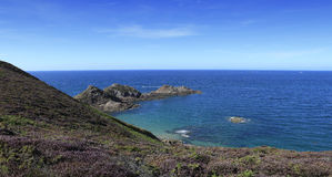 Cape of Erquy, bretagne, france Stock Photo