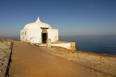 Cape Espichel, Chapel, Portugal Royalty Free Stock Photography
