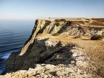 Cape Espichel Cliff, Atlantic Coast Royalty Free Stock Photo
